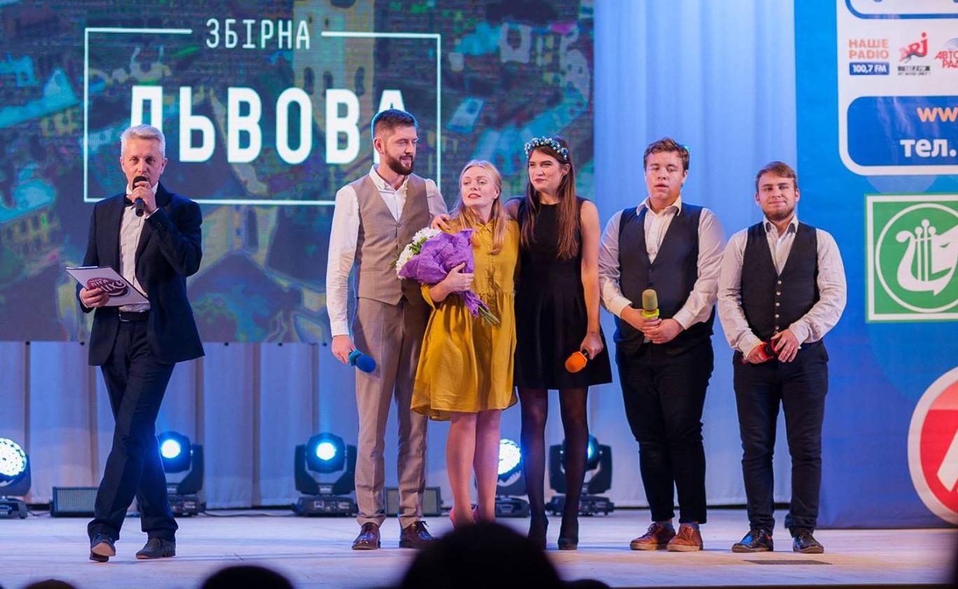 Збірна Львова і Бобриня Нікітіч в фіналі Рівненської Ліги Сміху